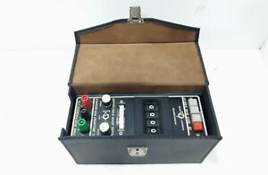 Time Electronic 1007 Dc Millivolt Potentiometer Calibrator With Carry Case Fr