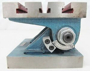 5 X 6 Swivel Angle Plate Tilting Table Milling Machine T Slotted Nos