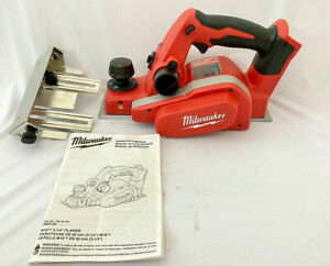 Milwaukee 2623 20 M18 18v Cordless Lithium ion 3 1 4 In Planer Tool Only