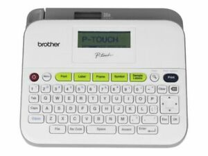 Brand New Brother P touch Pt d400 Label Maker Free Expedited 3 Days Shipping