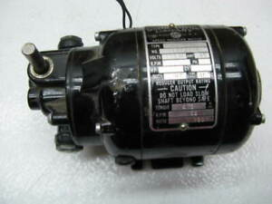 Used Bodine Gear Motor Nse 11r 180 1 Ratio Very Good Used Condition