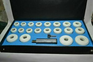 New Sioux Valve Seat Grinder Stones Amp Holder Kit Finishing Cut Wooden Box