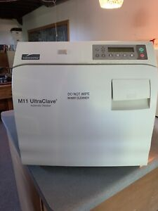 Midmark Ritter M11 Ultraclave Automatic Sterilizer Autoclave Dental