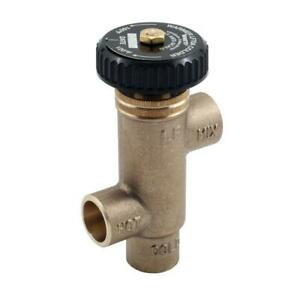 Watts 1 2 In Lead free Brass Swt X Swt Tempering Valve