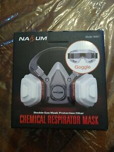 Na um Chemical Respirator Mask M401 Double Gas Mask Protection Filter
