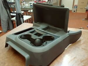 06 08 Dodge Ram Manual Transmission Floor Console Cup Holder 1500 2500 3500 Gray