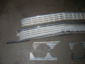 Oem 1962 Cadillac Fleetwood Grille And Headlight Trim
