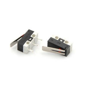 10x 2a 125v Micro Limit Switch Lever Roller Arm Actuator Snap Action Switches Oq