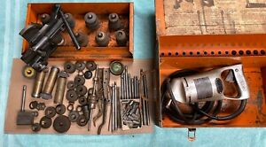 Sioux Valve Seat Grinding Set 1710 Driver 1713 Dressing Tool Stones Case