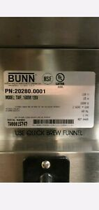 Bunn Coffee Maker Commercial Twf New 20280