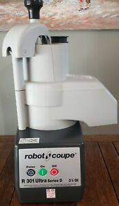 Robot Coupe R301 Ultra D Series Countertop Commercial Food Vegetable Processor