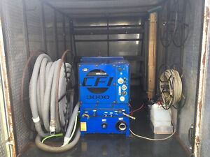 Commercial Carpet Cleaning Machine With Trailer
