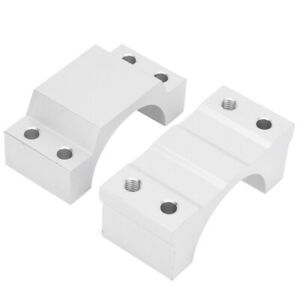 Spindle Clamp Mounting Bracket With 4pcs Screws For Engraving Machine 52mm