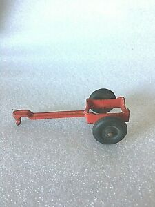 Vintage Toy Farm Implement Pull Behind Trailer To Carry Sprayer Or Barrel