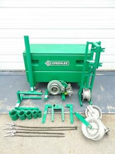 Greenlee 640 4000 Lbs Wire Cable Tugger Puller Set 2 L k