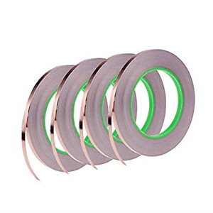 4 Pack Copper Foil Tape copper Tape With Double sided Conductive Emi