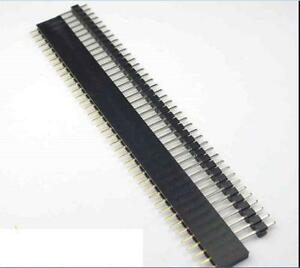 20 Pcs Male Female 40pin 2 54mm Sil Header Socket Row Strip Pcb Connecto Ee
