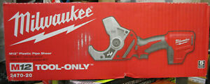 Milwaukee M12 Plastic Pipe Shear Tool only 2470 20 Brand New