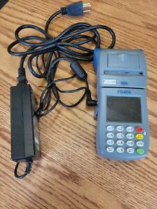 First Data Fd400 Used Excellent Condition Wireless Credit Card Machine Fd400