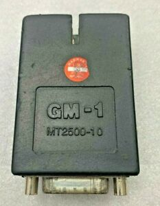 Gm 1 Adapter Mt2500 10 For Various Snap On Scanners Mt2500 Solus Modis Verus Etc