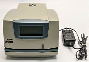 Pyramid 3500 Digital Time Clock And Document Stamp parts Only