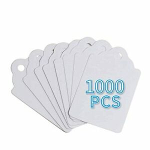 Unstrung Marking Tags 1 75 X 1 1 Inches Price Tags 1000 Pcs White