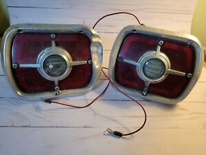 Vintage Ford Galaxy Car Back Up Reverse Tail Lights Pair Of 2