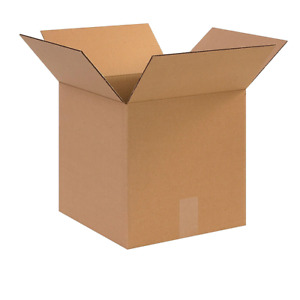 100 10x10x10 Cardboard Paper Boxes Mailing Packing Shipping Box Corrugated Carto