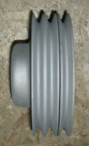 1958 1967 Cadillac 365 390 A C Water Pump Pulley 3 Groove Sandblasted 58 67