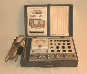 Vintage Accurate Instruments Co 257 Tube Tester As Is For Parts