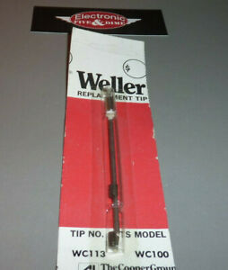 Weller Wc113 Soldering Tip For Wc100 Iron