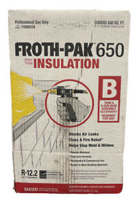 Froth pak 650 Insulation Spray Foam Professional Use Only 11096259 Part B