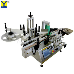 Mt 180 Round Bottle Labeling Machine local Postion Destop Can tin beer Labeler