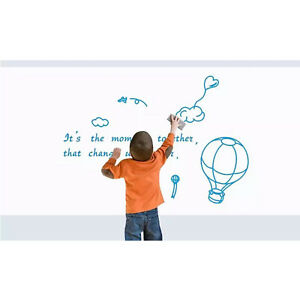 Dry erase 6 ft Whiteboard Or Chalkboard Wall Decal