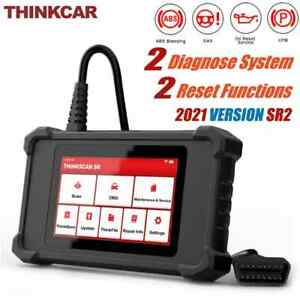 Thinkcar Obd2 Scanner Abs Srs System Diagnostic Scantool Airbag Oil Epb Reset