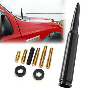 Bullet Style 50 Cal Bullet Antenna Fit For Chevy Silverado Anti Theft