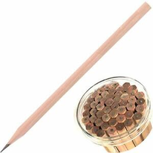 2b Pencil 50 pack Bundle Natural Wooden Hexagonal Pencils In A Bucket Smooth