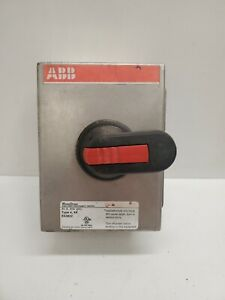 Good Used Abb Washdown 40a 600vac Type 4 4x Enclosed Disconnect Switch E63822