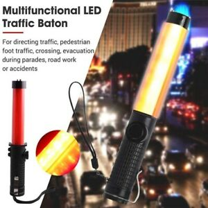 Outdoor Red Baton Light Tool Portable Safety Traffic Warning Led Light Red Signa