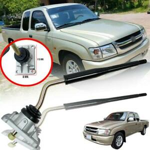 Fit Toyota 4runner Hilux Pickup Manual Gear Shift Shifter Lever 4 Bolt 5 Speed