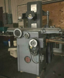Recondition Reid Surface Grinder W 6x18 Magnetic Chuck W Pope Spindle