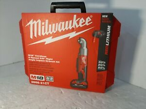 Milwaukee M18 Cordless 2 Speed 3 8 Right Angle Impact Wrench