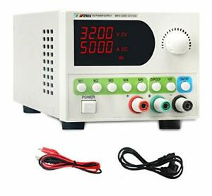 Dc Power Supply Variable 0 32v 0 6a Adjustable Switching Regulated Bench Lab