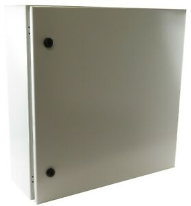 Yuco 24x24x10 Electrical Box Ip66 Rated Nema Type 4 Enclosure Fully Enclosed