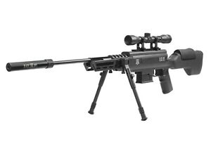 Black Ops Tactical Sniper Air Rifle .22 Combo 4x32 Scope Mount Adjustable Bipod $238.99