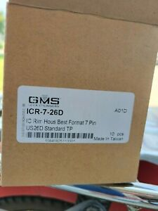 Gms Rim Cylinder Icr 7 Housing For Small Format 7 Pin Cores 26d Box Of 10