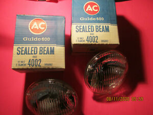 72 Olds 442 W 30 1972 Chevy T3 Head Light Bulb Sealed Beam Guide Buick Gto Vet