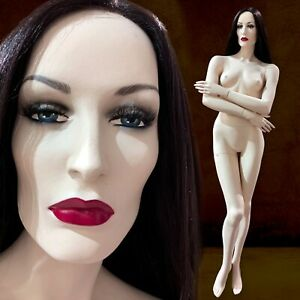 Haunting Gemini Vintage Realistic Full Female Mannequin Life Size Crossed Arms
