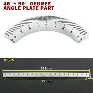 2 For Bridgeport Mill Milling Machine Part 45 90 Degree Angle Plate Aluminum
