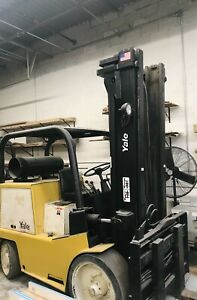 Yale Glc 120 Forklift In Exelent Condition Lift 12000 Lb Only 4600 Hour On It